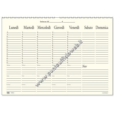 Agende e Planning