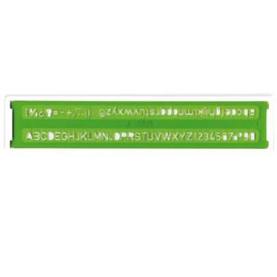 CERCHIOMETRO IN PLASTICA 1//55 COD MASCHERA PER CERCHI 7126 ARDA